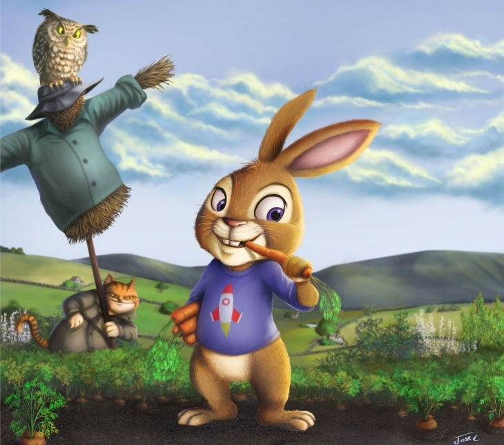 A Peter Rabbit Tale by SRT The Little Company