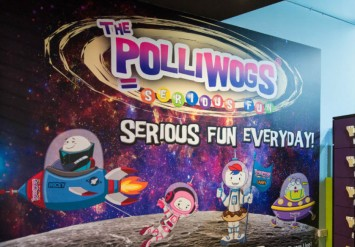 The Polliwogs Indoor Playgrounds: Active Play and Seroius Fun