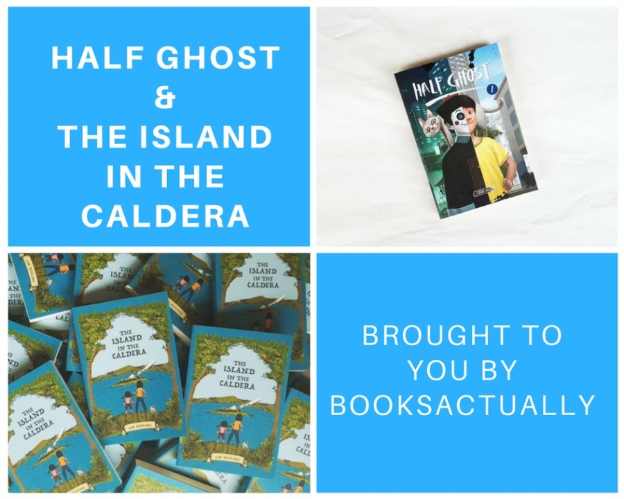 Half Ghost and The Island in the Caldera -  brought to you by BooksActually