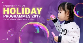 Singapore's Best Year-End Holiday Programmes in 2019 that will help your kids get ahead at school