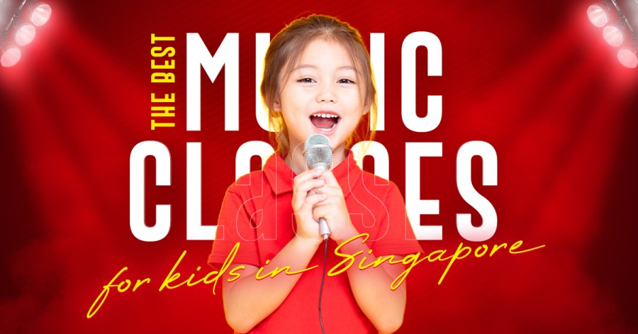 Best music classes for kids in Singapore