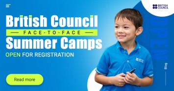 British Council Face-to-Face Summer Camps Open for Registration
