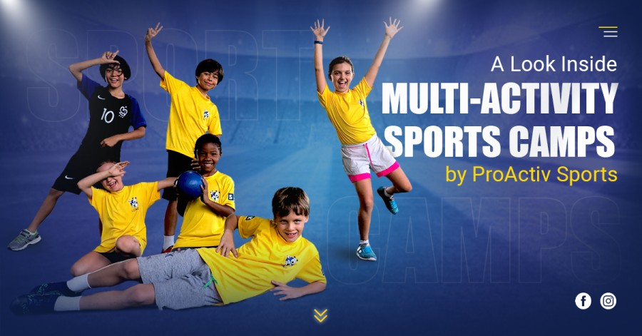 A Look Inside Multi-Activity Sports Camps by ProActiv Sports