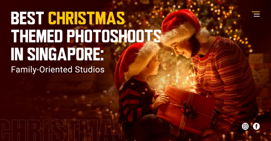 Best Christmas Themed Photoshoots in Singapore: Family-Oriented Studios