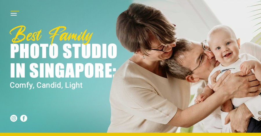 Best Family Photo Studio in Singapore: Comfy, Candid, Light