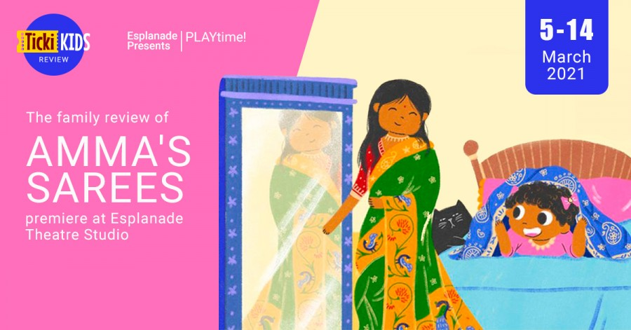The Family Review of Amma's Sarees Premiere at Esplanade Theatre Studio