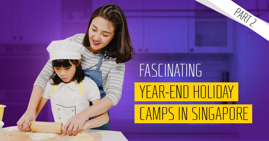 Fascinating Year-End Holiday Camps in Singapore 2021. Part 2