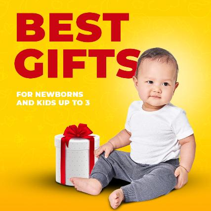 Best Gifts for Newborns and Kids up to 3