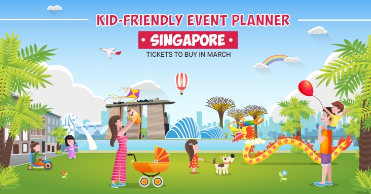 Kid-friendly event planner: tickets to buy in March 2019