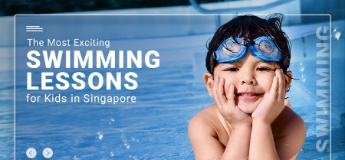 The Most Exciting Swimming Lessons for Kids in Singapore