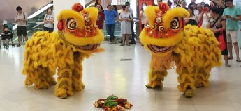 Lion Dance Cai Qing @ Frasers Centrepoint Malls