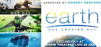 Earth: One Amazing Day at Shaw Theatres Lido