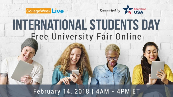 International Students Day - Free University Fair Online
