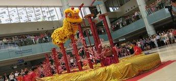 Lion Dance Cai Qing Performance @ Marina Square