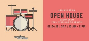 Group Drum Open House