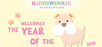 Welcome the year of the Dog 2018 at Kiddiwinkie Schoolhouse @ The Grandstand