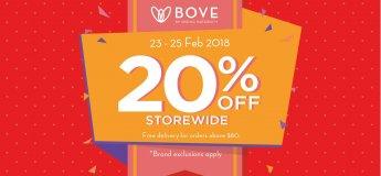 20% OFF Storewide