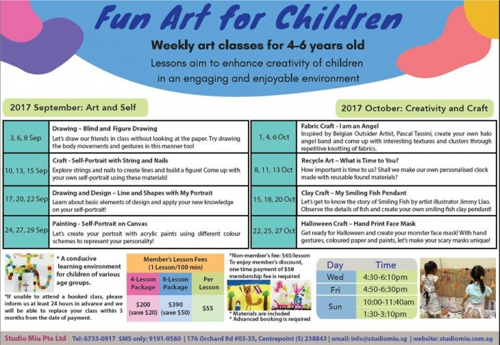 fun art for children singapore