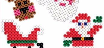 Santa's Workshop: Hama Beads Christmas Coasters