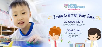 Little Footprints@West Coast - Young Scientist Play Date