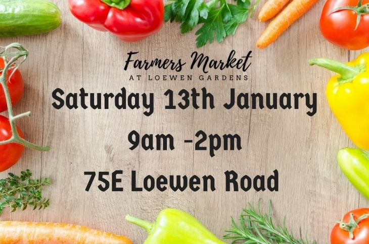 Farmers Market at Loewen Gardens