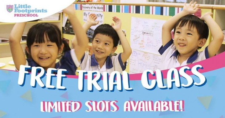 Free Trial Class at Little Footprints @ Thomson
