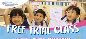 Free Trial Class at Little Footprints @ Tung Po