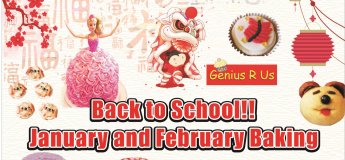 Back to School January and February Baking Workshops